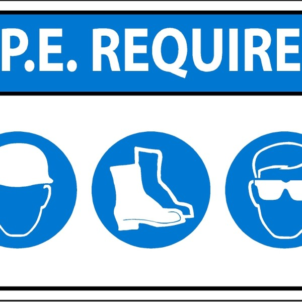 Safety Sign Dubai Ppe Required Sign Safety Signs